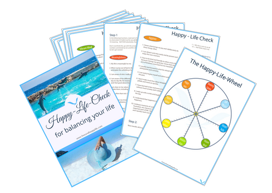 The Happy Life Check Workbook